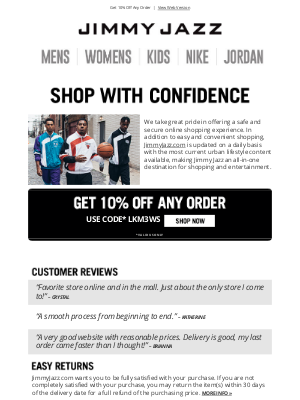 Jimmy Jazz - Shop with confidence