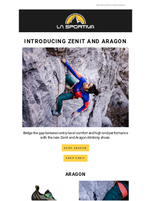La Sportiva - Introducing the Zenit and the Aragon