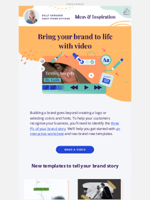 Animoto - [NEW] Templates to tell your brand story