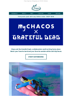 Chaco - The Grateful Dead x MyChacos: A pairing for the ages