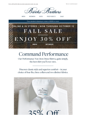 Brooks Brothers (AU) - The best shirt you'll ever own is on sale.