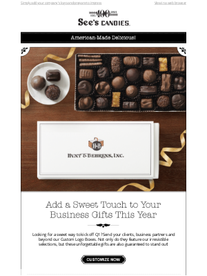 See's Candies - Your Logo, Our Chocolate