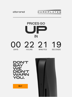 dbrand - This email will eat itself in 24 hours