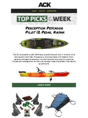 Austin Kayak - More Performance, Comfort & Storage Than Any Yak @ This Price || Perception Pescador Pilot 12 Pedal Kayak