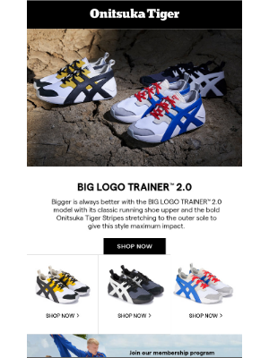 Upgrade Your Style with the BIG LOGO TRAINER™ 2.0 Model