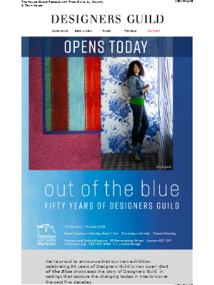 OPENS TODAY | OUT OF THE BLUE