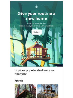 Airbnb - brandon, turn the everyday into a getaway