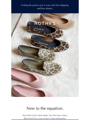 Rothy's - Four new shoes + you = 😁