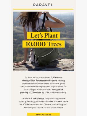 Paravel - Let's Plant 10,000 Trees