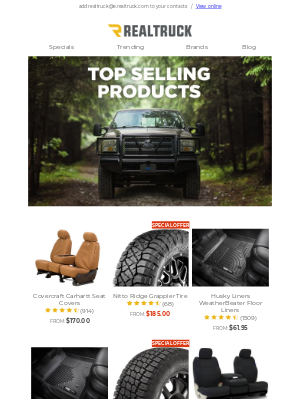 RealTruck - Get the best for your truck with our MVPs
