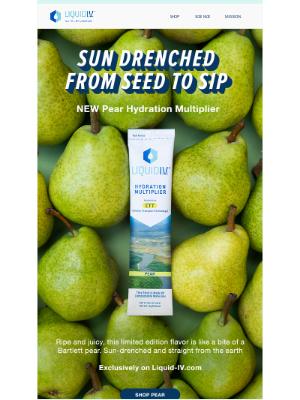 Liquid I.V. - Ripe and Juicy Pear