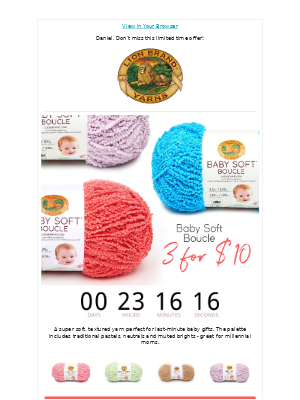 Baby Yarn Anyone Can Wear