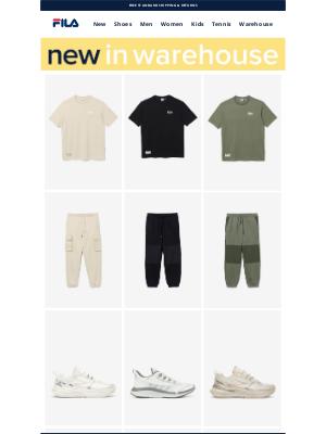 Fila Inc. - New In Warehouse