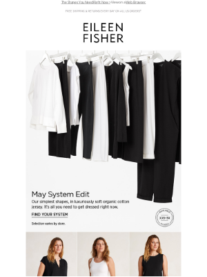 EILEEN FISHER - The System Edit: May