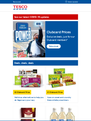 Tesco (UK) - Jennifer, tuck into some exclusive deals this January