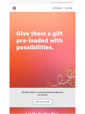 lululemon (AU) - Last minute gifting