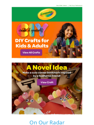 Crayola - Craft @ Home: 🦃 Bookmark