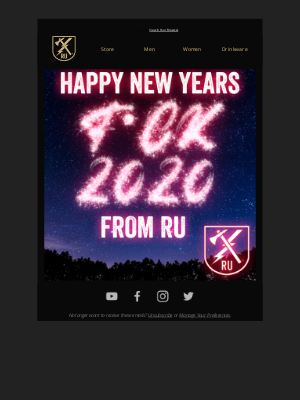 Ranger Up Military and MMA Apparel - Happy New Year!!