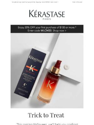 Kérastase - Complimentary Travel Hair Spray For Your Halloween Style!