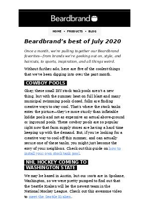 Best of July 2020
