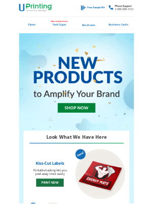 UPrinting - Just Landed: New Products for Your Brand