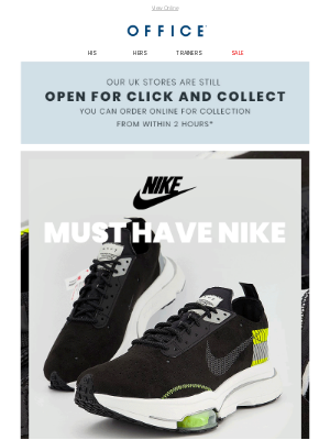 OFFICE Shoes (UK) - Must Have Nike