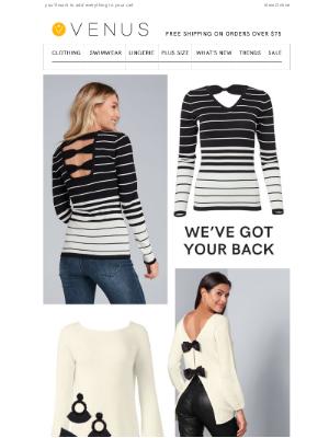 VENUS Fashion - Get sweater weather ready
