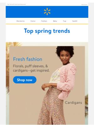 Walmart - Top trends of the season