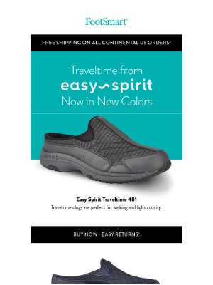 FootSmart - Take It Easy With Easy Spirit Traveltime