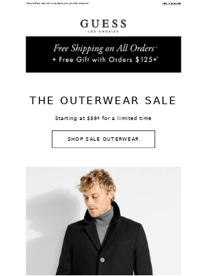 Coat Check: They're on Sale