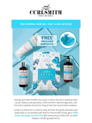 CURLSMITH - 💆 FREE scalp massager