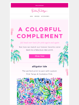 Lilly Pulitzer - For The Love of Pink