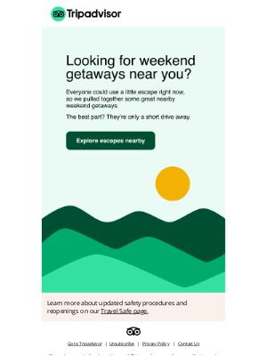 HouseTrip - Looking for a weekend getaway?