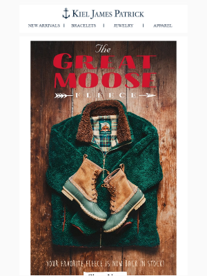 The Great Moose is Back: Your Favorite Fleece is Back in Stock