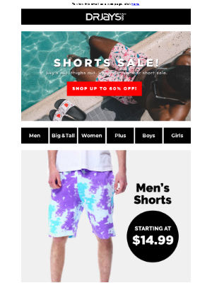 Shop the Summer Shorts Sale.