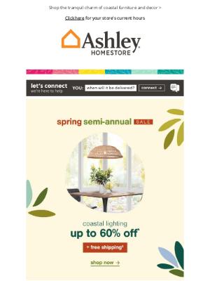 Ashley Furniture HomeStore - 🔵 Cool, Calm & Coastal | Shop this Trendy Style