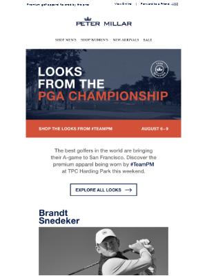 Dress Like The Pros: PGA Championship Looks