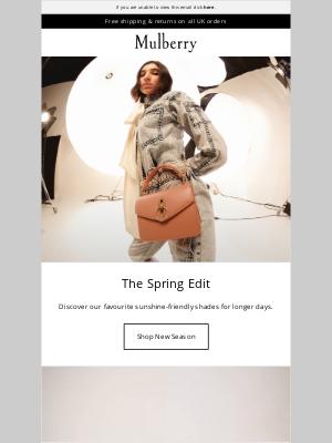 Mulberry (UK) - The Edit: Springtime Shades