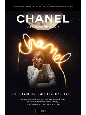 Chanel (UK) - The Stardust GIFT LIST BY CHANEL.