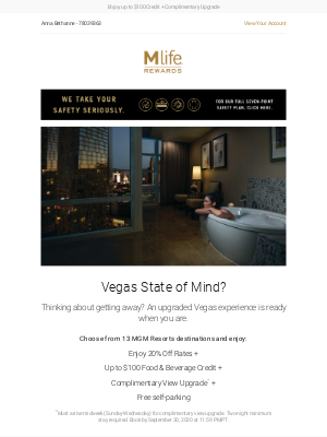MGM Resorts - It's Time to Upgrade Your Vegas Experience.