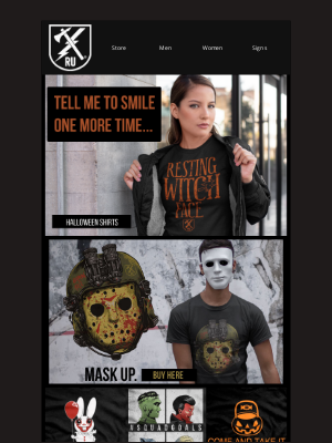 Ranger Up Military and MMA Apparel - 🎃Creepin closer to Halloween....🎃