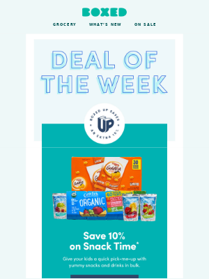Save 10% on Snacks + Drinks! 🥤🥨🍿