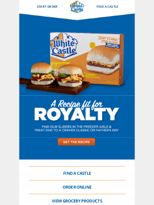 White Castle - A recipe fit for a king!