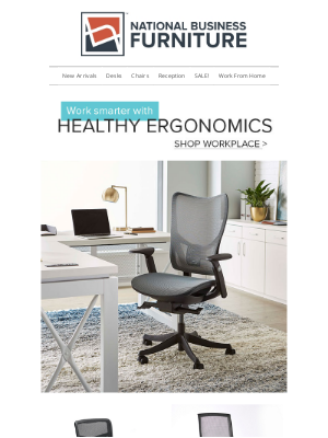 National Business Furniture - Relax in a comfortable state with an ergonomic chair >
