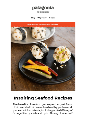 Patagonia Provisions - Healthy & delicious seafood recipes