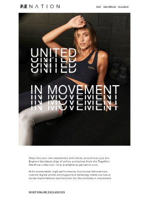 P.E NATION (AU) - WE ARE UNITED IN MOVEMENT