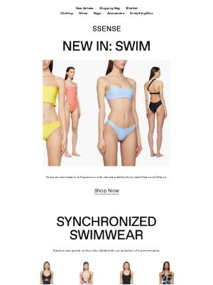 SSENSE - Swimming in Technicolor