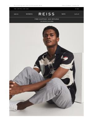 Reiss - The Gigi Printed Shirt