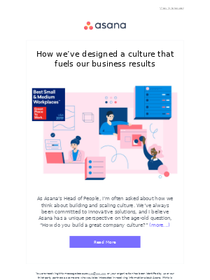 How we've designed a culture that fuels our business results