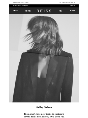 Reiss - Welcome to Reiss